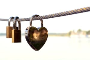Heart, lock, Promises