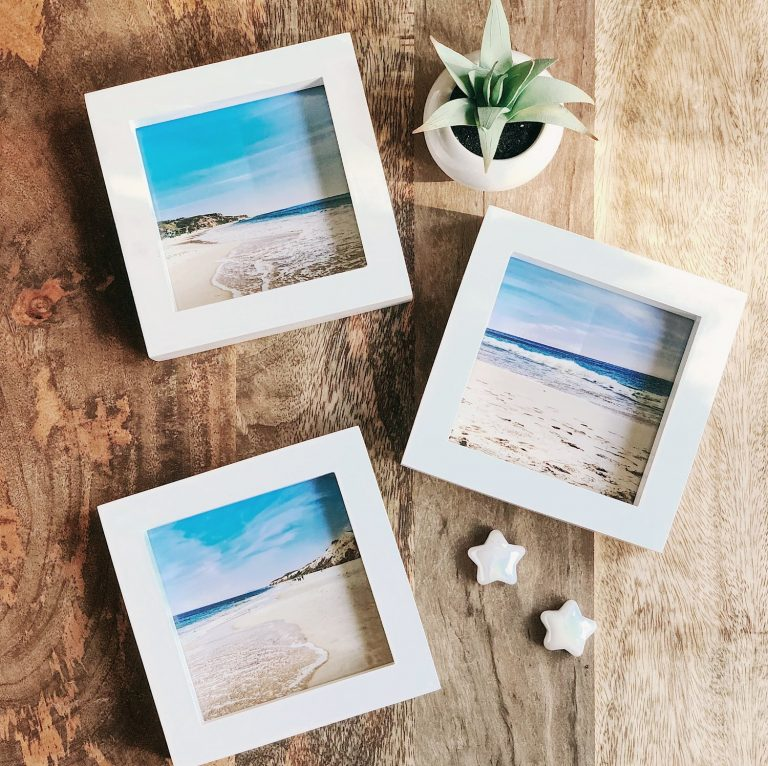 DIY Printed Instagram photos in frames