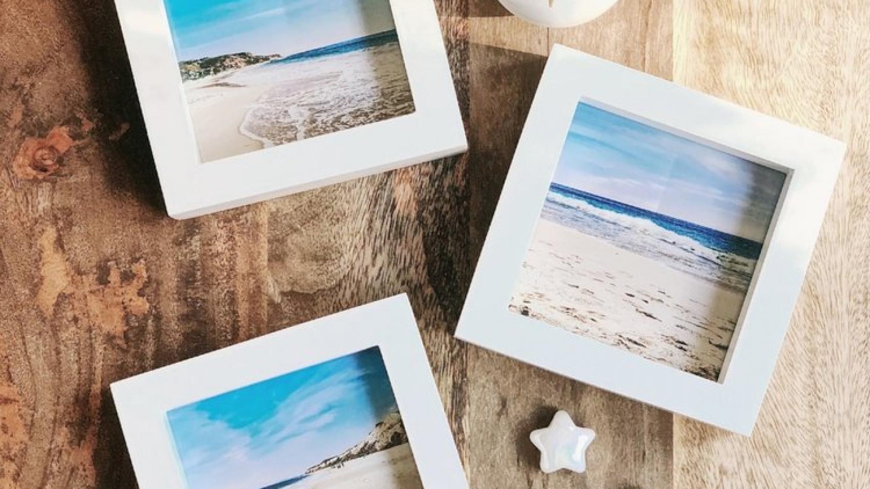 DIY Pictures in Frames