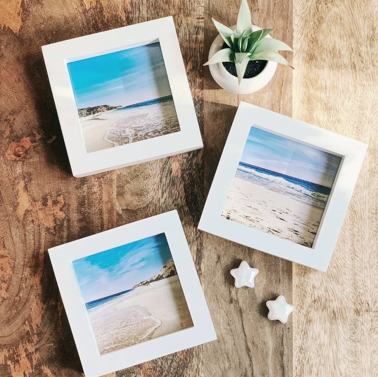 DIY Pictures in Frames