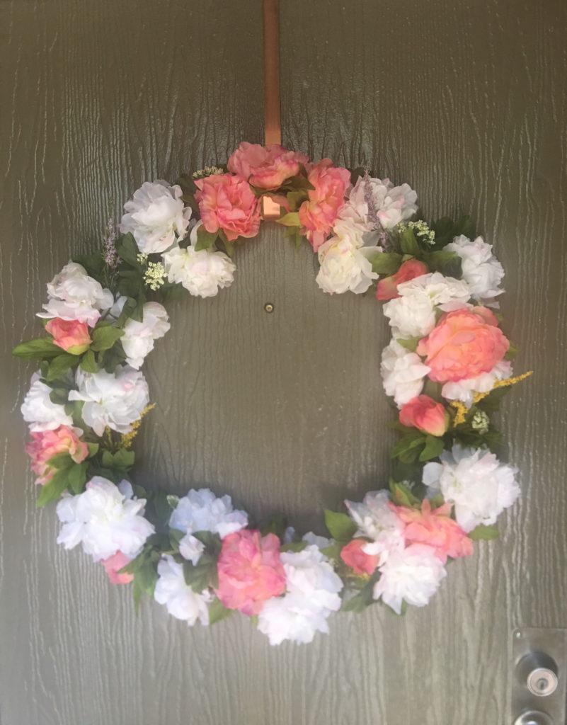 Spring's Wreath DIY