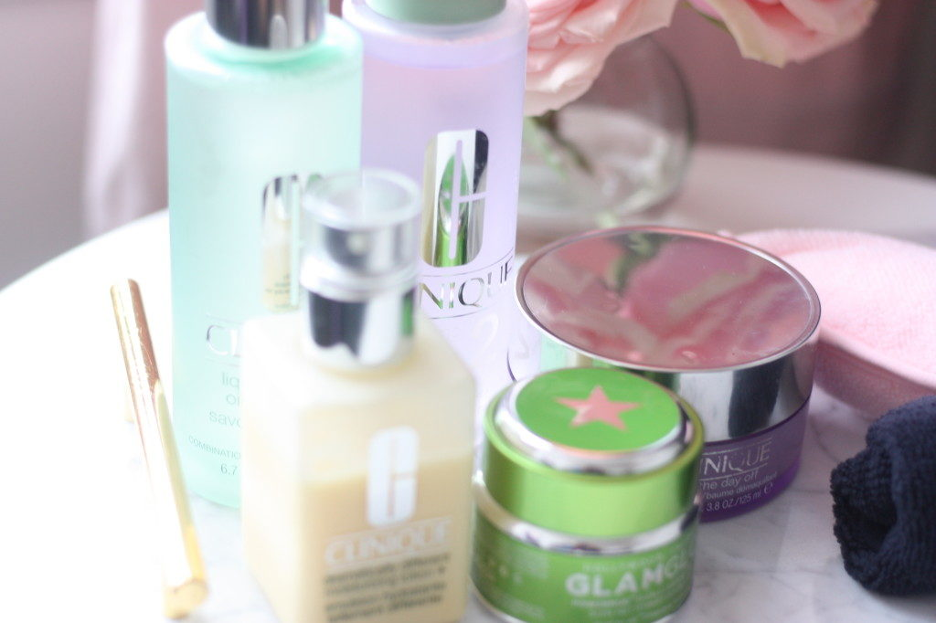 Clinique's Beauty face products
