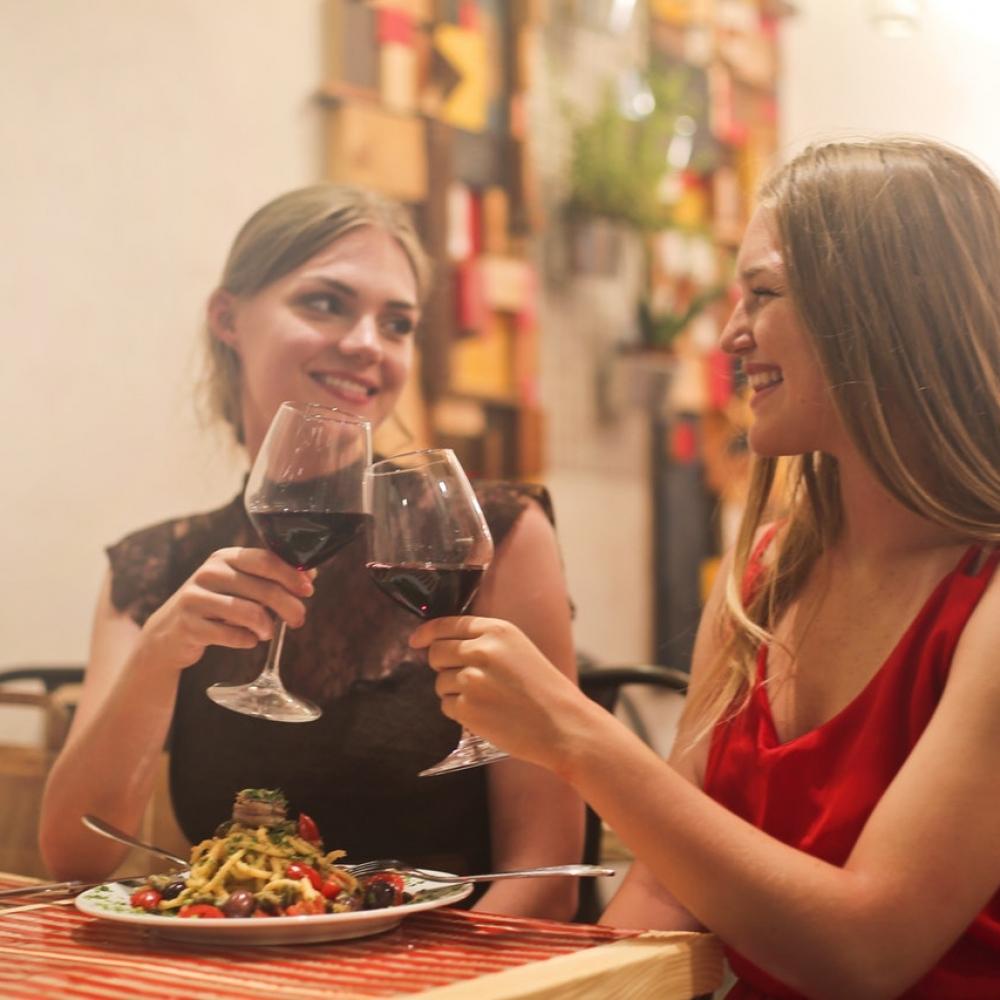Order Health at Restaurant