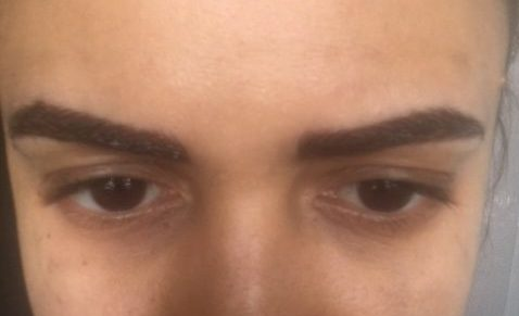 Microblading after first session