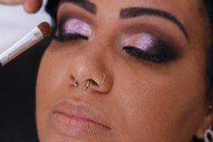 Glitter Lids for Fall Beauty Trends