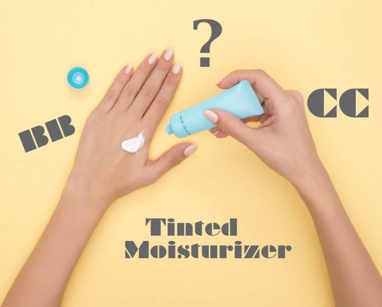 BB creams, CC creams, and tinted moisturizers