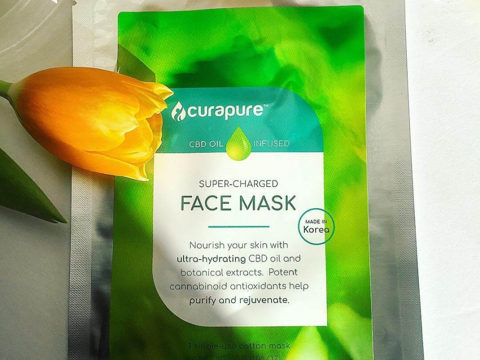 Curapure Sheet mask CBD in Skin Care