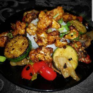 Jasmine Rice and Vegetable Sauté