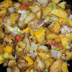One Skillet Breakfast Hash