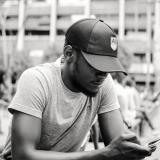 Guying texting