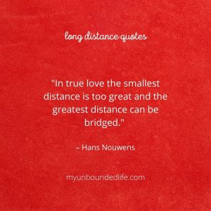 long distance relationship quotes – Hans Nouwens